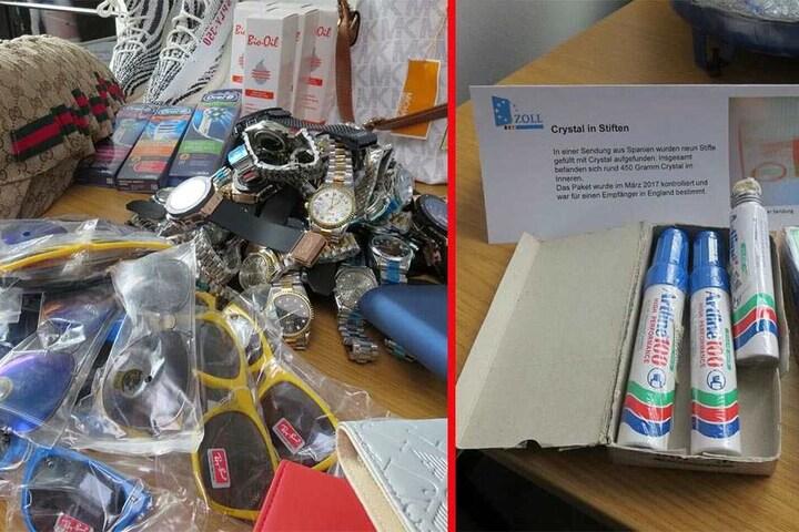Sonnenbrillen, Uhren, Zahnbürsten oder auch einfach ein paar mit Crystal Meth gefüllte Stifte - Souvenirs sind für jeden etwas anderes...