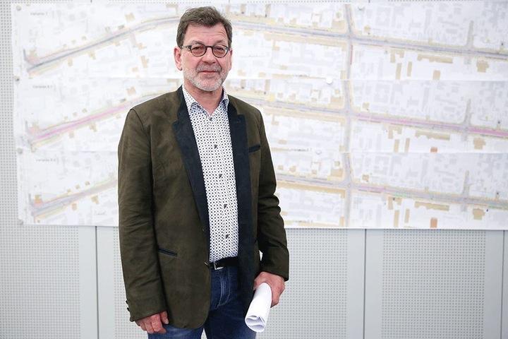 BU-Koettnitz: Straßen- und Tiefbauamts-Chef Reinhard Koettnitz (62)