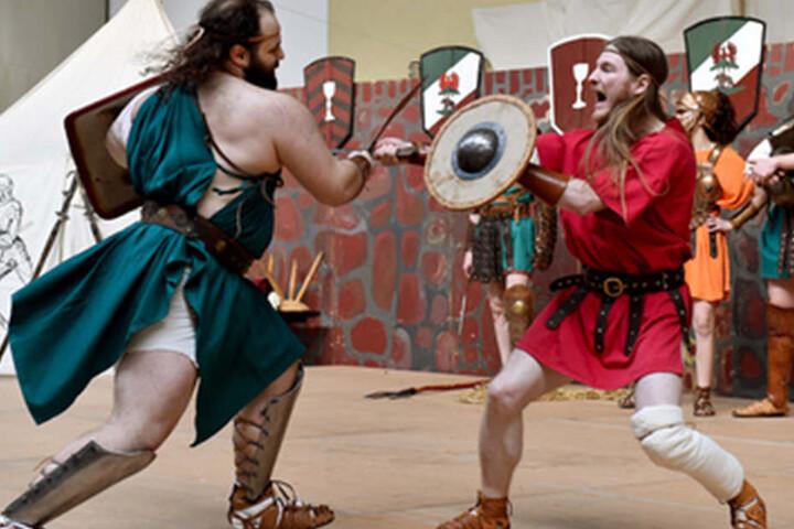 Alles rund ums Thema Gladiatoren erfahrt Ihr am Sonntag in Oerlinghausen. (Symbolbild)