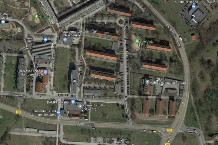 Der Vorfall ereignete sich an der Fritz-Schmenkel-Straße in Torgau.