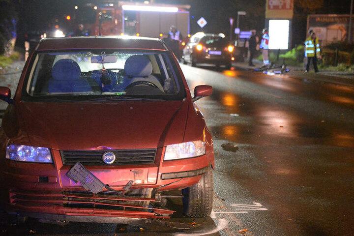 Bei dem zweiten Crash wurde der Radfahrer so schwer getroffen, dass er am Unfallort verstarb.