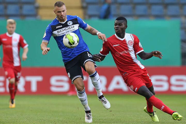 Aktuell ist Florian Hartherz (24, li.) konkurrenzlos. Aktuell fehlt jedoch Geld für einen Spieler.