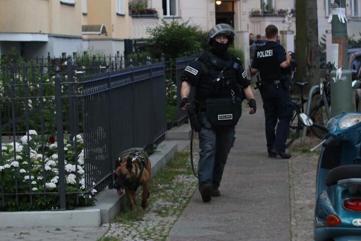 Sechs Einsatzkräfte wurden verletzt.