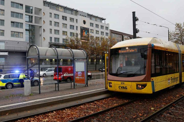 Der Unfall passierte an der Augustusburger Straße.