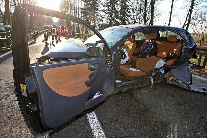 Durch den Unfall entstand ein Gesamtsachschaden von 13.000 Euro.