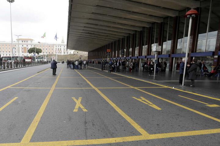 Der Bahnhof Termini in Rom wird immer gefährlicher.