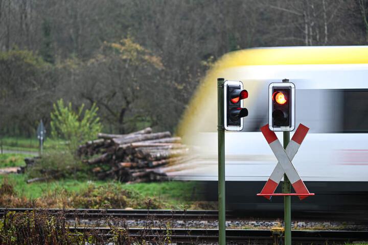Der Lokführer konnte nicht mehr rechtzeitig bremsen. (Symbolbild)