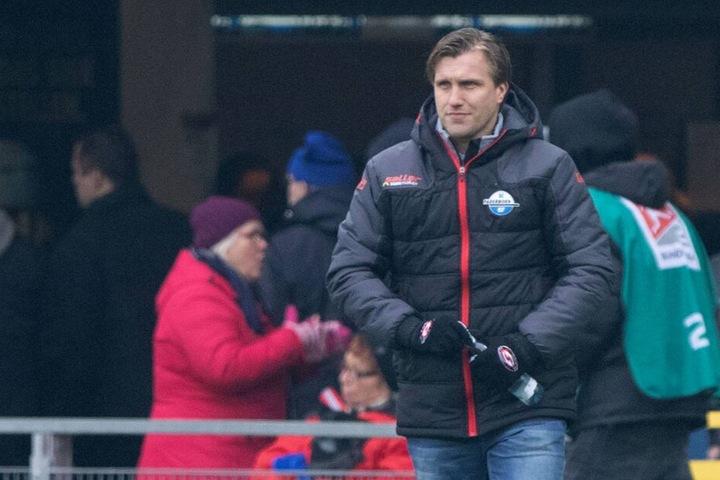 SCP-Manager Markus Krösche sprach sich gegen Rassismus und Diskrimierung aus.