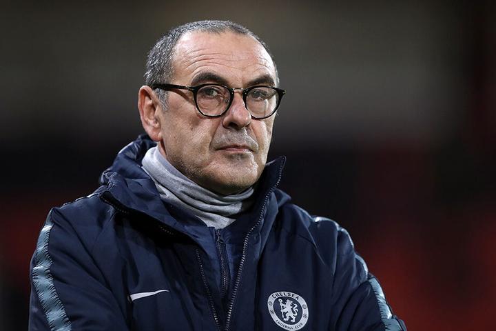 """Hält seit dieser Saison die Zügel in der Hand: Maurizio Sarri kam vom FC Chelsea und coacht nun die """"Alte Dame""""."""