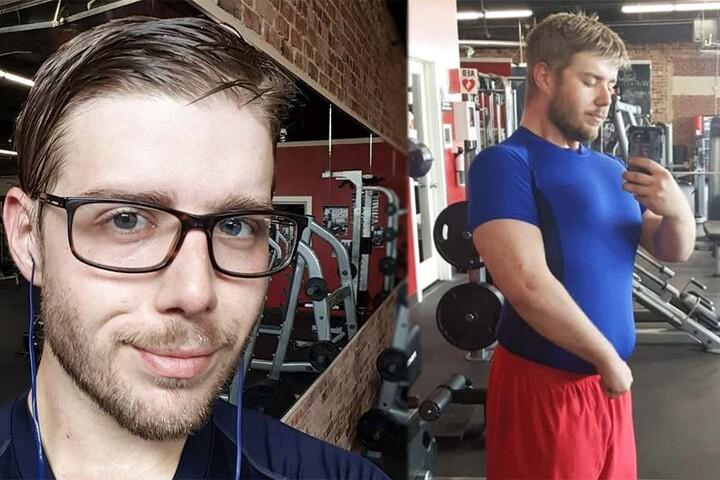 Clayton Gee (30) sieht aus wie ein anderer Mensch.