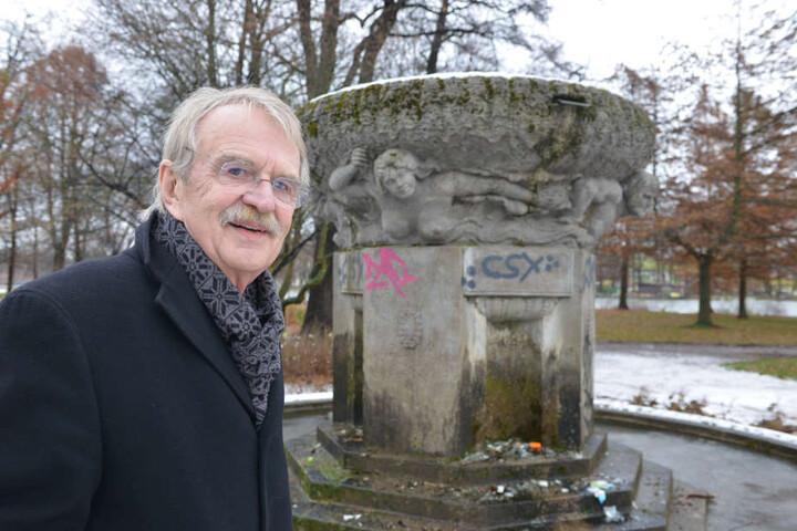 Dieter Füsslein (78, FDP) will angehende Erzieher bei der Stadt als Azubis anstellen.