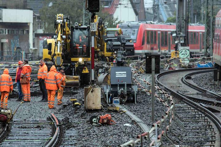 Aufgrund von Bauarbeiten fallen viele Züge aus oder werden umgeleitet (Archivbild).