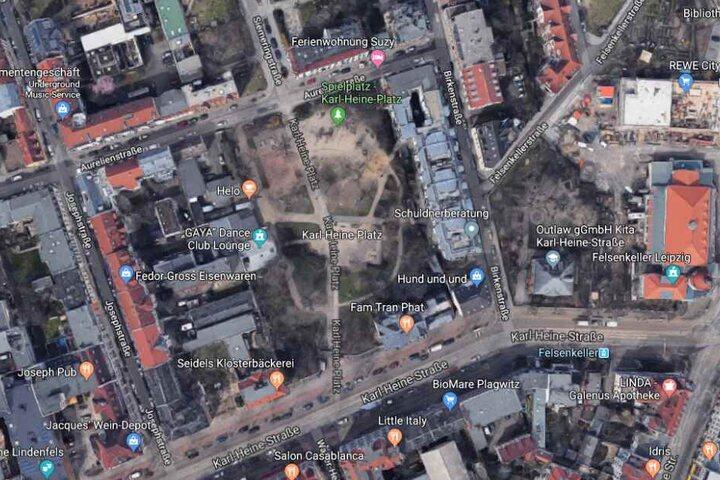 Der Vorfall ereignete sich am Karl-Heine-Platz in Lindenau.