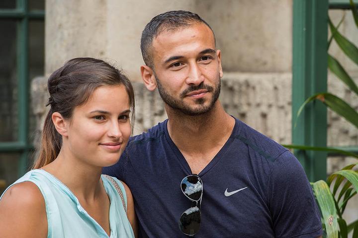 Akaki Gogia mit Freundin Andrea.