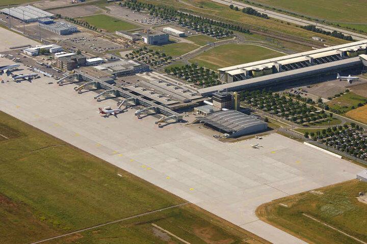 Auf dem Flughafen Leipzig/Halle sollen die Flieger von Pakistan nach New York zwischenlanden.