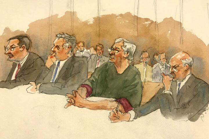US-Unternehmer Jeffrey Epstein verletzt in Gefängniszelle gefunden