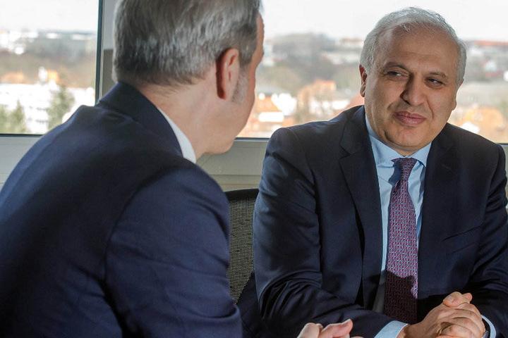 Der armenische Botschafter machte am Montag klar, was er von den Taten seiner Landsleute hält.