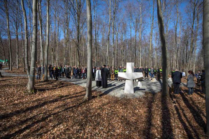 Den Waldfriedhof in Bad Berka gibt es erst seit April 2018.