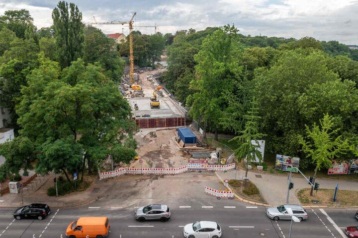 Erst im Dezember wird die Kaßbergauffahrt wieder für den Verkehr freigegeben.