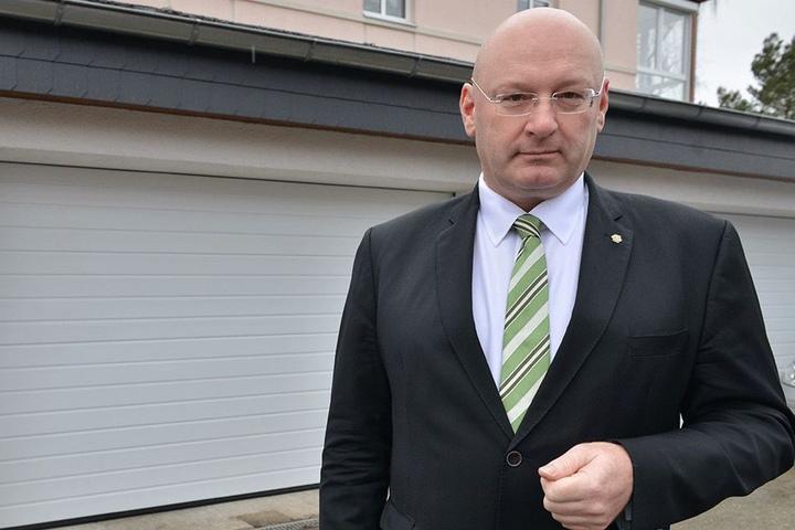 Gerald Otto (53, CDU) fordert einen Ausbau der A72.
