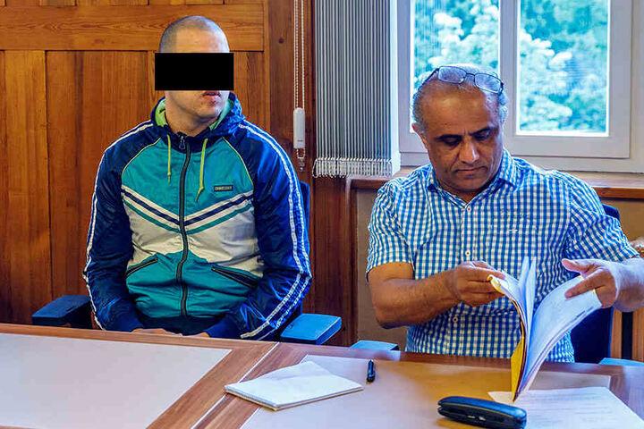 Mohamad A. (27) prügelte auf einen Mitgefangenen ein.