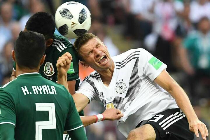 In der Nationalmannschaft läuft Thomas Müller derzeit seiner Form hinterher. Überraschungsmomente? Fehlanzeige!