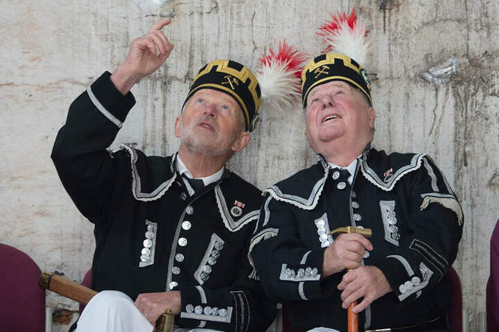 Bergmannschöre und -kapellen halten die Tradition in der Region aufrecht.