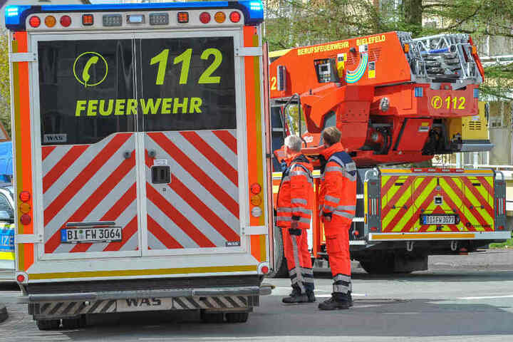 Das Ehepaar kam per Rettungswagen ins Krankenhaus.
