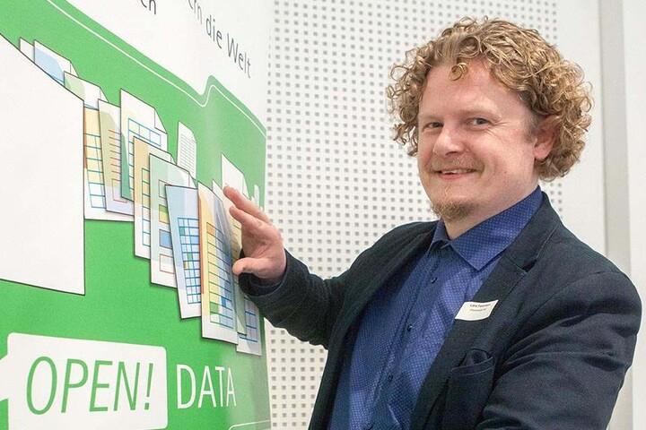 Vosi-/Piraten-Stadtrat Lars Fassmann (40) will den Abriss des Hauses unbedingt verhindern.