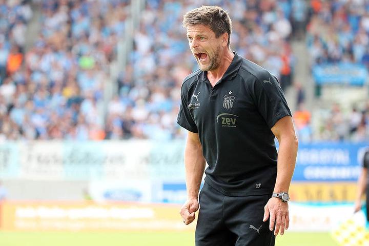 Mit ihm war nicht gut Kirschen essen: FSV-Trainer Torsten Ziegner.