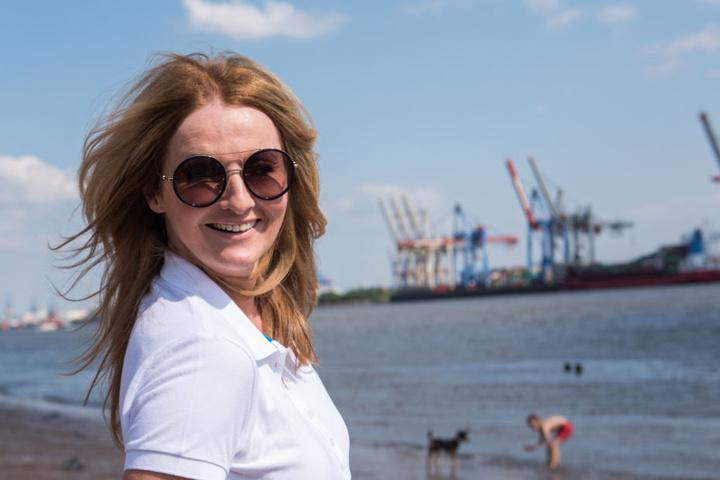 Frauke Ludowig setzt sich für die Umwelt ein.