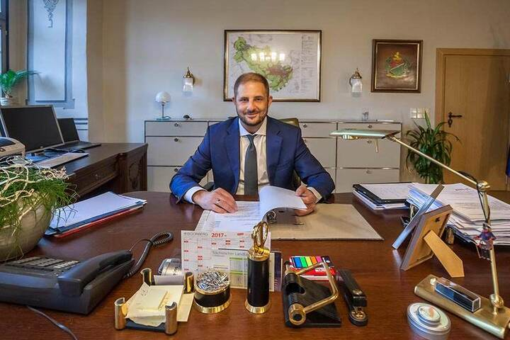 Der Stadtchef will Limbach-Oberfrohna für einige Millionen aufpolieren.