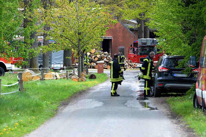1997 brannte der Hof von Bauer Josef Dresselhaus bis auf die Grundmauern nieder.