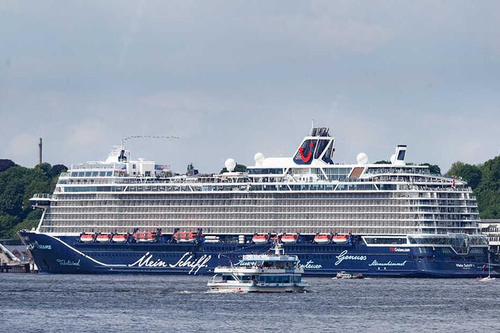 """Der Luxus-Liner """"Mein Schiff 1"""" war auf dem Weg nach Gdynia, als das Unglück passierte."""