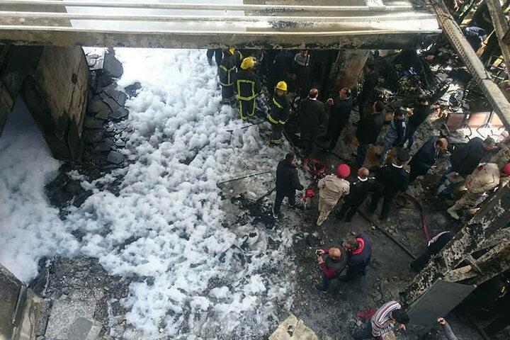 Kairo/Ägypten: Schweres Zugunglück im Hauptbahnhof - Tote und Verletzte | Welt