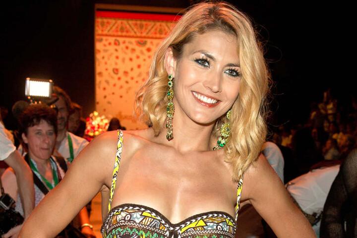 Model Fiona Erdmann (29).