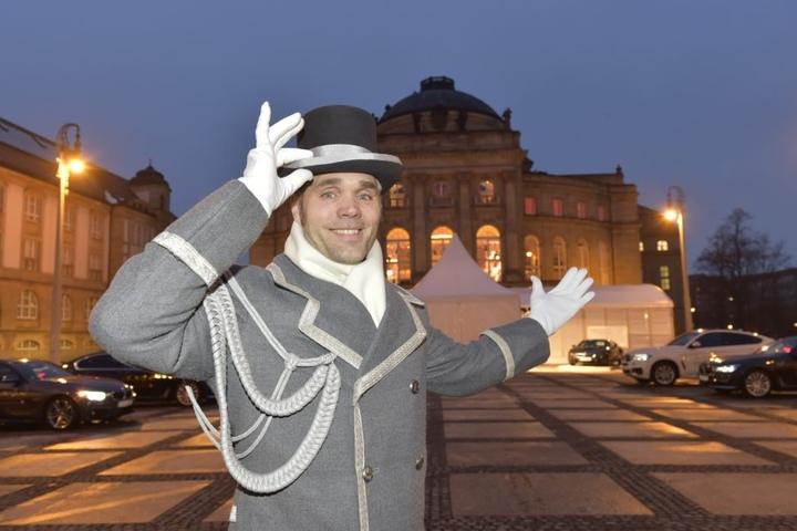 Marco Winkler (45) begrüßte die Gäste...