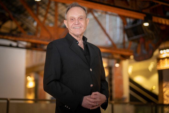 Georg Preusse (69) zeigte sich auch von der Architektur der Operette begeistert.