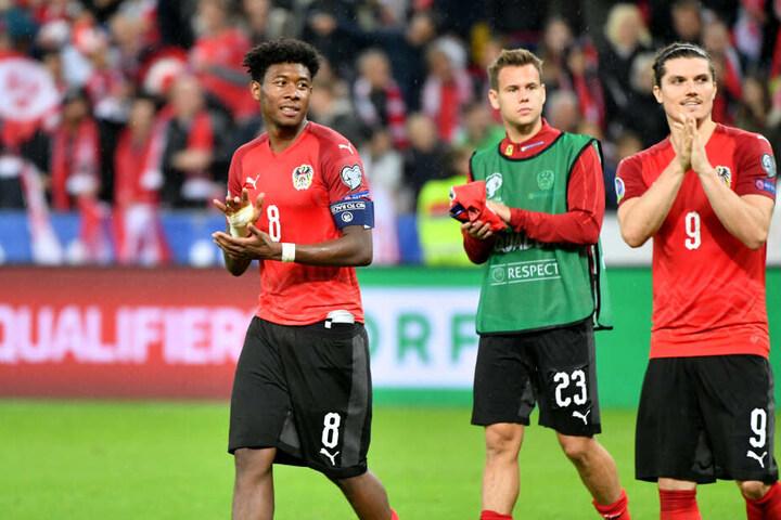 Das nächste Highlight steht auch schon bevor: Am kommenden Wochenende trifft RB auf die Bayern und Sabitzer damit auf seinen österreichischen Mannschaftskollegen Daniel Alaba (links).