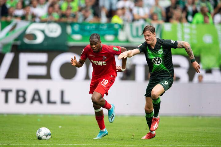 Kölns Kingsley Ehizibue zeigte eine ordentliche Leistung als Rechtsverteidiger.