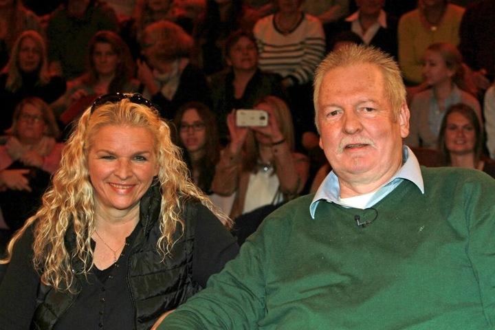 Carmen und Tamme Hanken 2015 bei Markus Lanz.