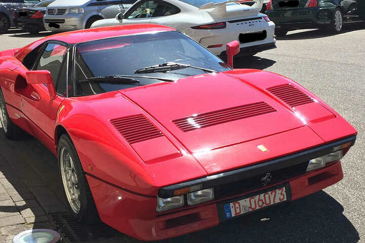 Der 2-Millionen-Euro-Ferrari ist wieder aufgetaucht.