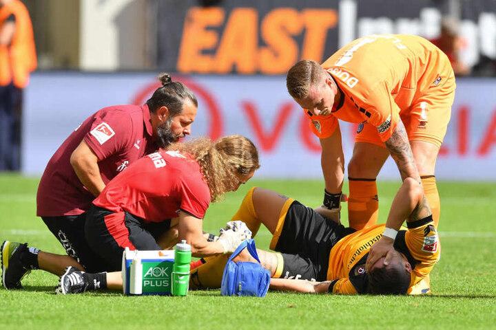 Pascal Testroet fällt mit einer schweren Knieverletzung lange Zeit aus.