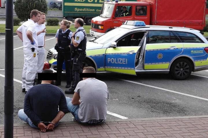 Zwei der drei Flüchtigen konnten von der Polizei festgenommen werden.