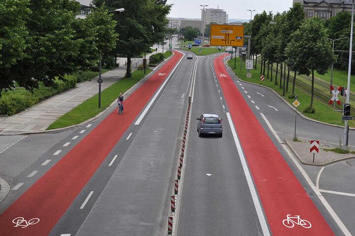 An der Albertstraße sollen wohl nicht zwei, sondern nur eine Spur wegfallen. Ob das umgesetzt werden kann, ist unklar.