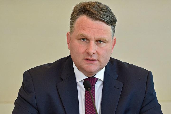 Christian Hartmann (44, CDU), Chef der Parlamentarischen Kontrollkommission. Sie äußerte scharfe Kritik.