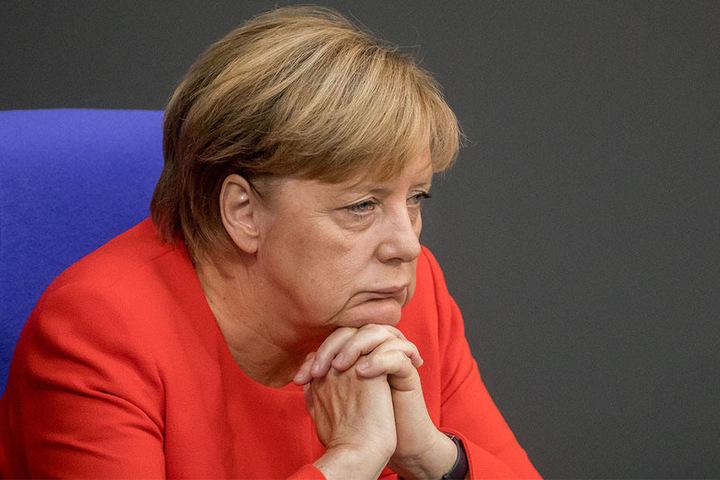 """Angela Merkel hatte das Schmähgedicht auf Erdogan als """"bewusst verletztend"""" eingestuft."""