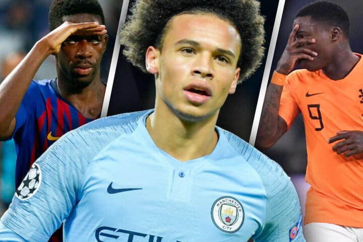 Der FC Bayern sucht Ersatz für Franck Ribéry und Arjen Robben: Ein Trio ist im Fokus. (Bildmontage)
