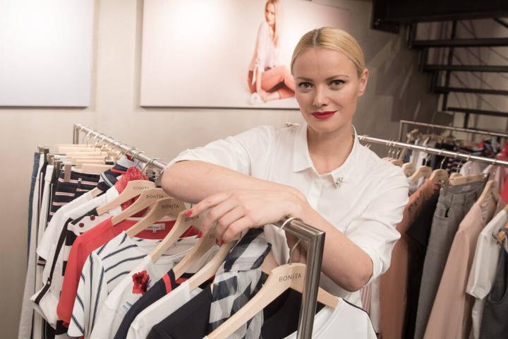 Topmodel Franziska Knuppe hatte bei Bonita eine eigene Modelinie.