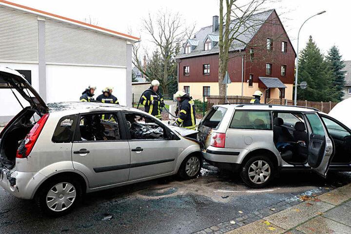 Die Ford-Fahrerin hatte in der Albert-Einstein-Straße einen Passat gerammt.